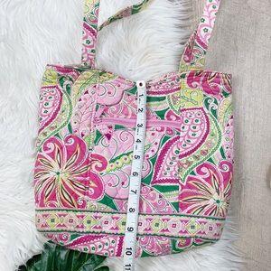 Vera Bradley Bags - Vera Bradley Pink Floral Shoulder Bag Tote Purse